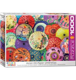 Eurographics Asian Oil Paper Umbrellas - 1000 Piece Puzzle
