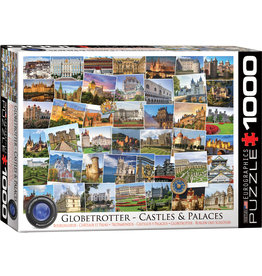 Eurographics Globetrotter - Castles & Palaces - 1000 Piece Puzzle