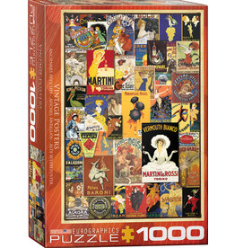 Eurographics Vintage Posters - 1000 Piece Puzzle
