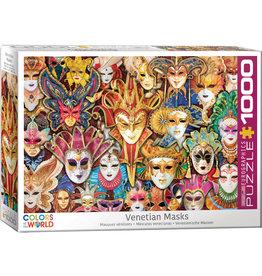 Eurographics Venetian Masks - 1000 Piece Puzzle