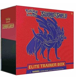 Pokemon PKM: Sword & Shield Elite Trainer Box