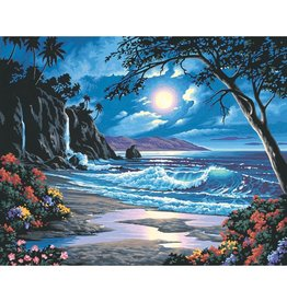 Dimensions Moonlit Paradise - 16x20 - Paint by Number
