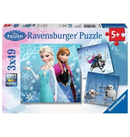 Ravensburger Winter Adventures - 49 Piece Puzzle (3 pack)
