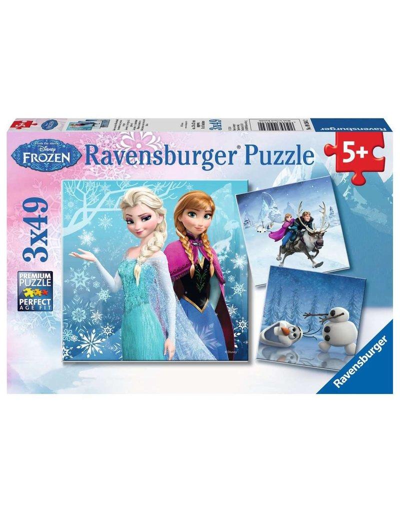 Ravensburger Winter Adventures - 49 Piece Puzzle (3 pack)