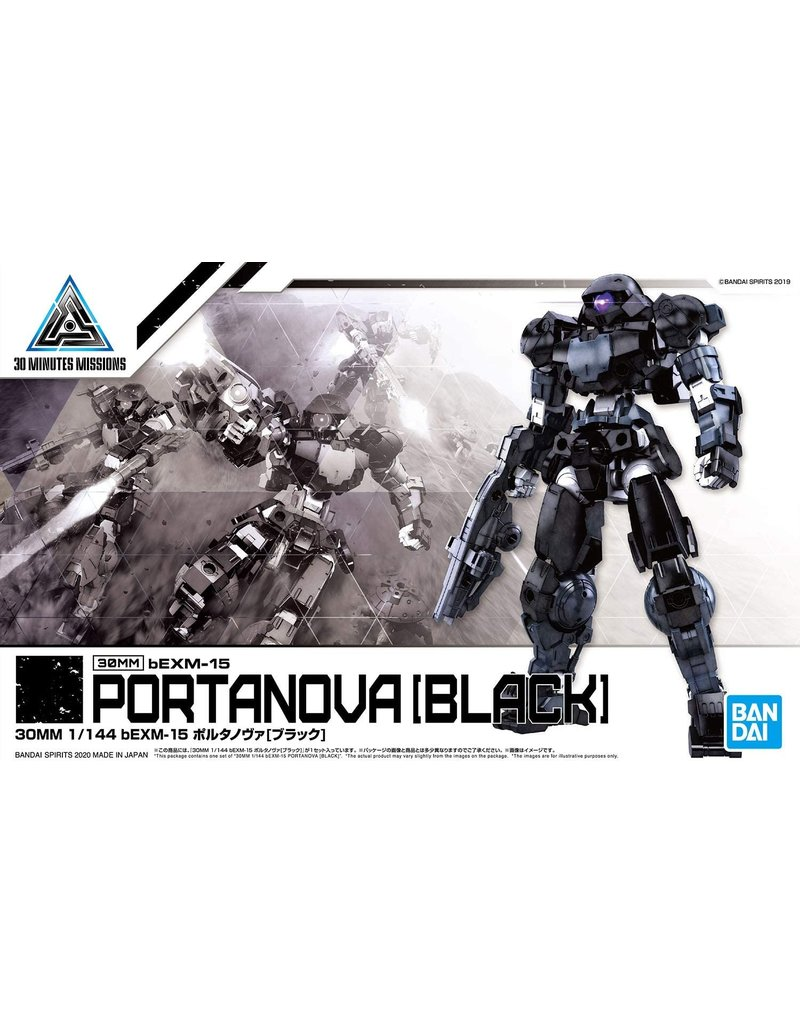Bandai #20 bEXM-15 Portanova (Black)
