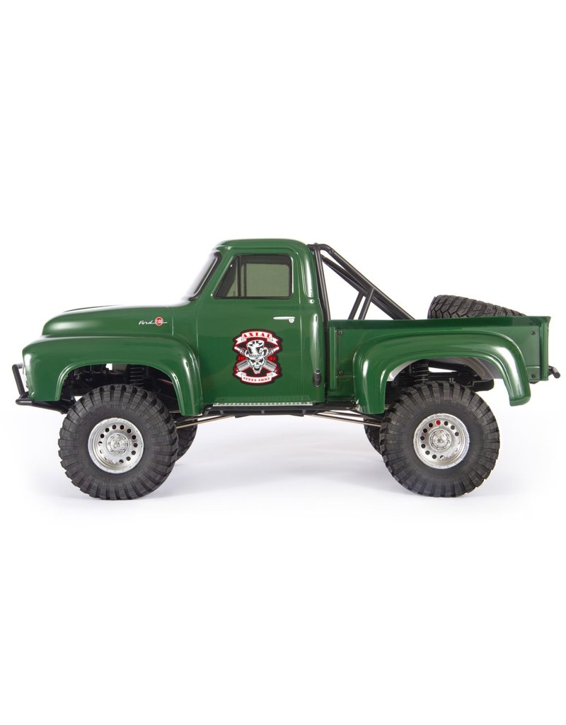 Axial  1/10 SCX10 II 1955 Ford F-100 4WD Truck Brushed RTR - Green