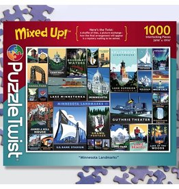 Puzzle Twist Minnesota Landmarks - 1000 Piece Puzzle