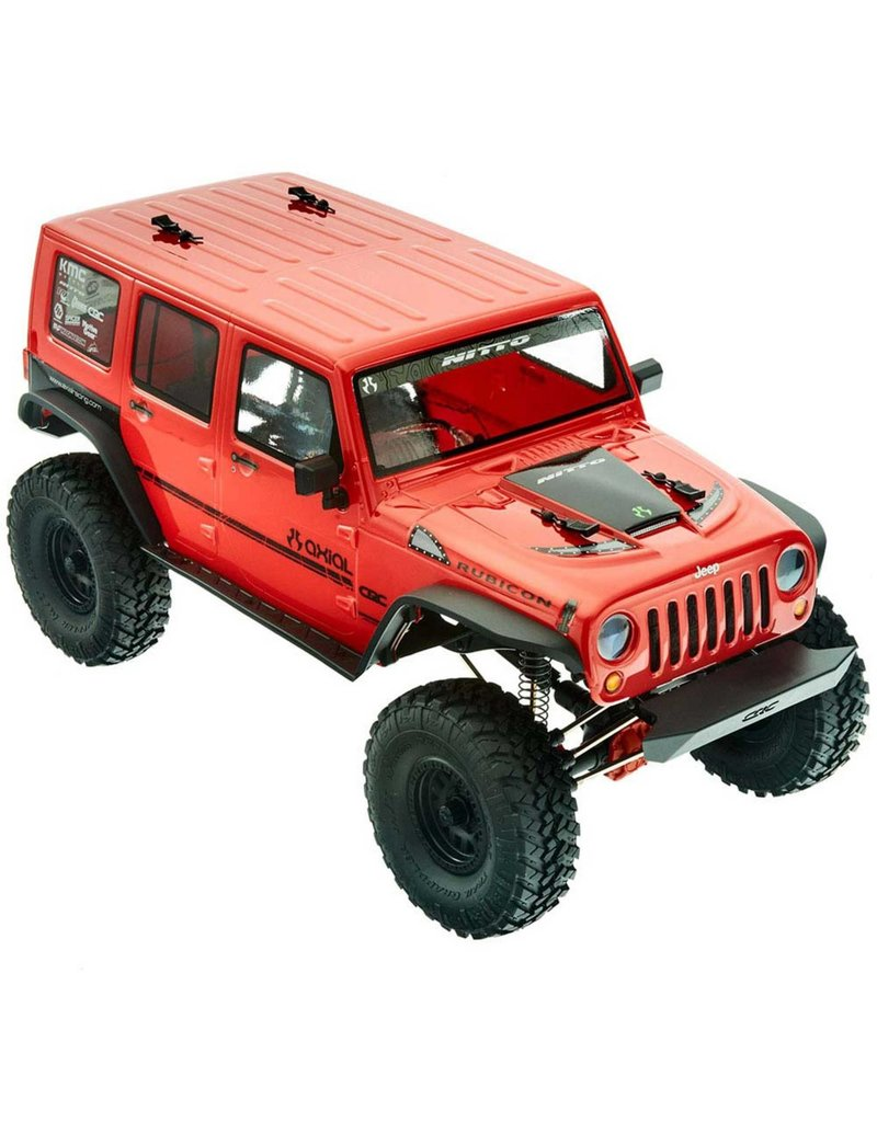 Axial 1/10 SCX10 II 2017 Jeep Wrangler Unlimited CRC 4WD Rock Crawler Brushed RTR