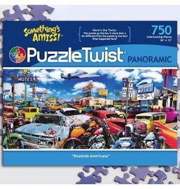 Puzzle Twist Roadside Americana - 750 Piece Puzzle