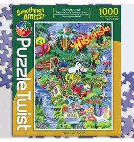 Puzzle Twist Wisconsin Spirit - 1000 Piece Puzzle
