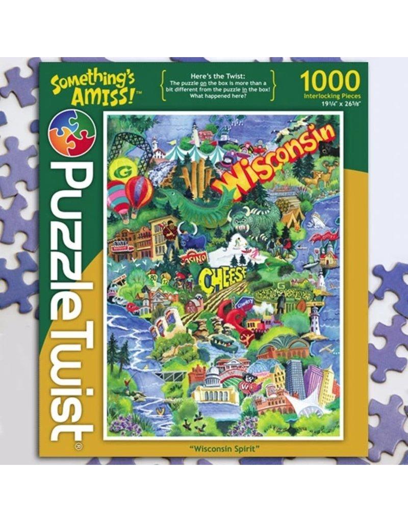 Puzzle Twist Wisconsin Spirit - 1000 Piece Puzzle