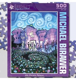 Puzzle Twist His Purple Palace - 500 Piece Puzzle