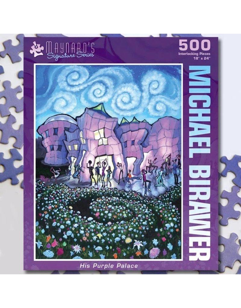 Puzzle Twist His Purple Palace - 500 Piece Puzzle