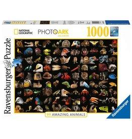 Ravensburger 99 Stunning Animals - National Geographic - 1000 Piece Puzzle