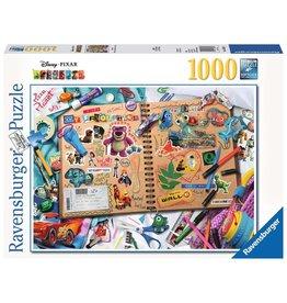 Ravensburger Disney Pixar Scrapbook - 1000 Piece Puzzle