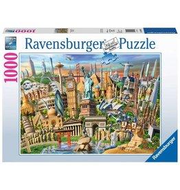 Ravensburger World Landmarks - 1000 Piece Puzzle