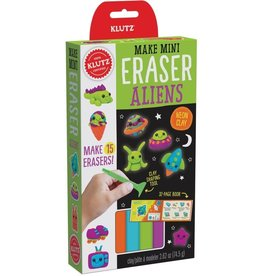 Klutz Make Mini Eraser - Aliens