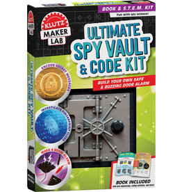 Klutz Ultimate Spy Vault & Code Kit