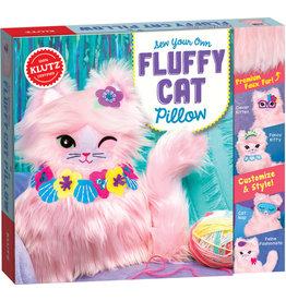 Klutz Sew Your Own Fluffy - Cat Pillow