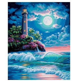 Dimensions Lighthouse - 16x20 - Paint By Number