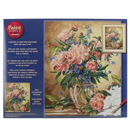 Dimensions Peony Floral - 16x20 - Paint By Number