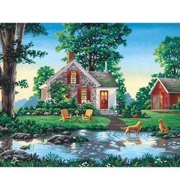 Dimensions Summer Cottage - 16x20 - Paint By Number