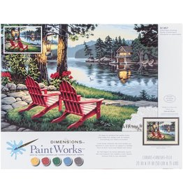 Dimensions Adirondack - 14x20 - Paint By Number