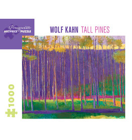 Pomegranate W Kahn: Tall Pines - 1000 Piece Puzzle