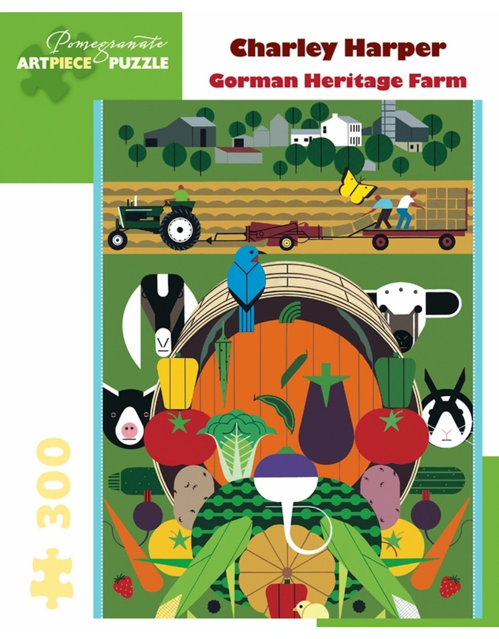 Pomegranate C Harper - Gorman Heritage Farm - 300 Piece Puzzle