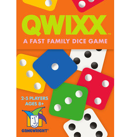 Gamewright Qwixx - Family Dice Game
