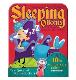 Gamewright Sleeping Queens - 10th Anniversary Tin
