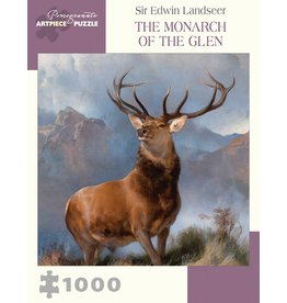 Pomegranate Landseer: Monarch Of The Glen - 1000 Piece Puzzle
