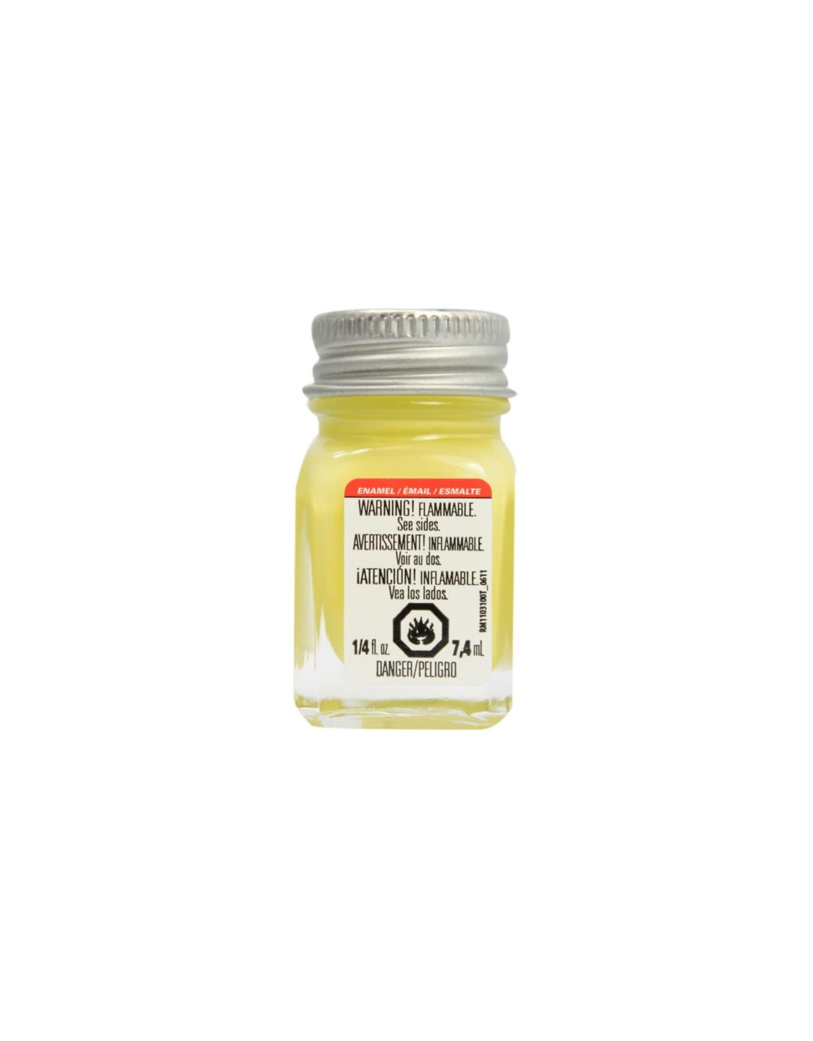 Testors 1112TT - Enamel 1/4 oz - Light Yellow