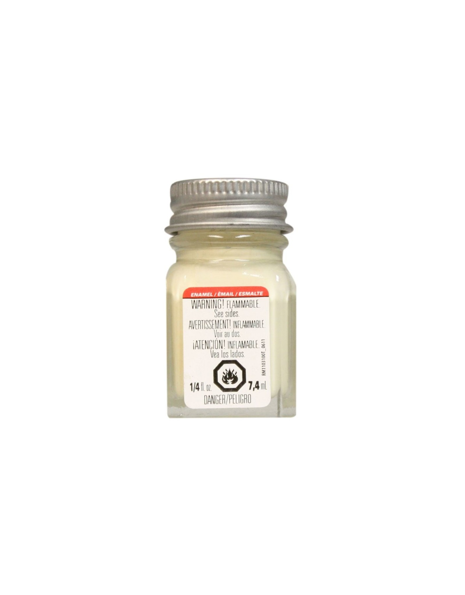 Testors 1117TT - Enamel 1/4 oz - Light Ivory Gloss