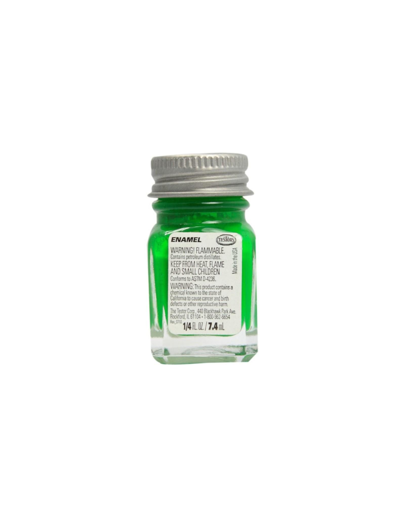 Testors 1124TT - Enamel 1/4 oz - Green