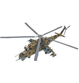 Revell 5856 - 1/48 Mil-24 Hind Helicopter