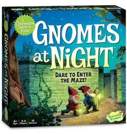 Peaceable Kingdom Gnomes At Night