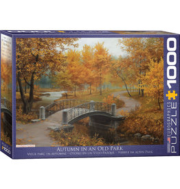 Eurographics Autumn In Old Park - 1000 Piece Puzzle