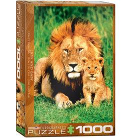 Eurographics Lion & Baby - 1000 Piece Puzzle
