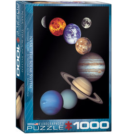 Eurographics NASA - The Solar System - 1000 Piece Puzzle