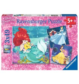 Ravensburger Princesses - 49 Piece Puzzle (3 Pack)