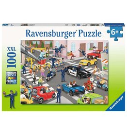 Ravensburger Police on Patrol - 100 Piece Puzzle
