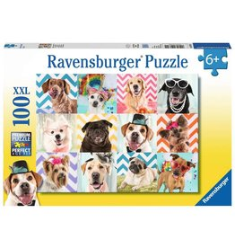 Ravensburger Doggy Disguise - 100 Piece Puzzle