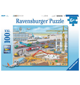 Ravensburger Construction at the Airport - 100 Piece Puzzle