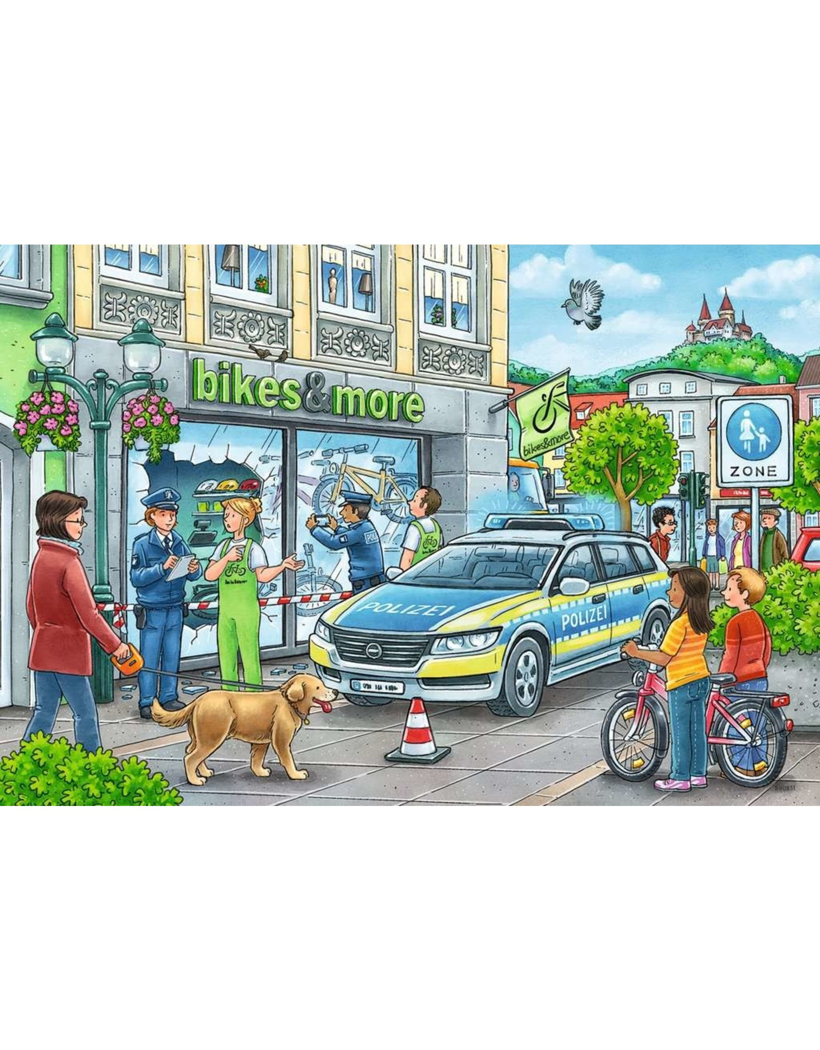Ravensburger Police at Work! - 24 Piece Puzzle (2 Pack)