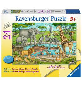 Ravensburger Watering Hole Delight - 24 Piece Floor Puzzle