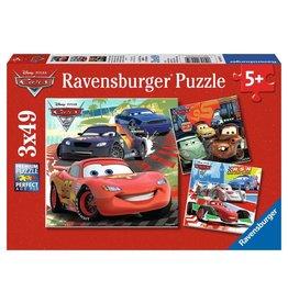 Ravensburger Worldwide Racing Fun - 49 Piece Puzzle (3 Pack)