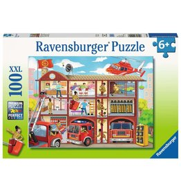 Ravensburger Firehouse Frenzy - 100 Piece Puzzle