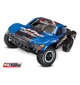 Traxxas 1/10 Slash 2WD RTR Short Course Truck with On-Board Audio - Blue