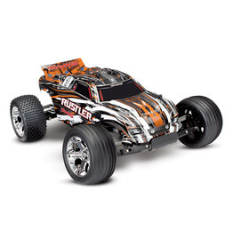 Traxxas 1/10 Rustler XL-5 2WD Stadium Truck - Orange